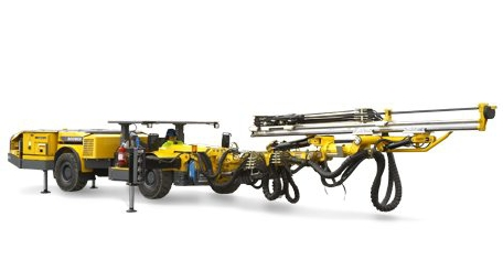 Boomer S1 L Face drilling rig Atlas Copco [Ground