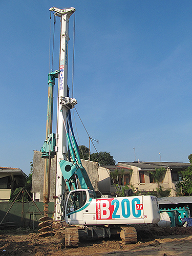 B200xp Hydraulic Piling Rig Casagrande Group [Ground