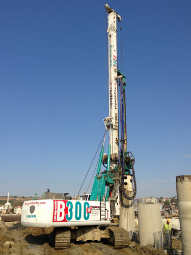 B300xp Hydraulic Piling Rig Casagrande Group [Ground Construction