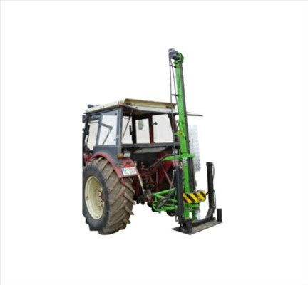 AGRICULTURAL TESTING RIG WITH HAMMER_Nordmeyer Geotool