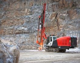 LEOPARD DI550 Surface DTH drill rig SANDVIK MINING [Ground
