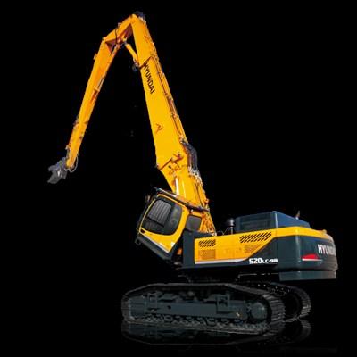 R520LC-9A Demolition Crawler Excavator Hyundai Construction