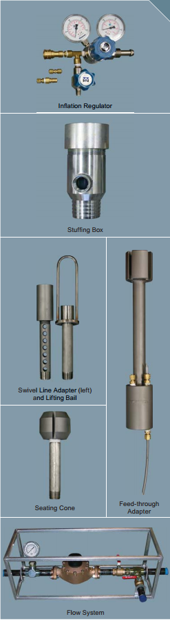 Tundish Lifting Bail Testing : Borehole packer accessories rst instruments ltd ground