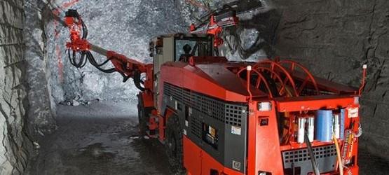 Dd421 Mining Jumbo Sandvik Mining Ground Construction