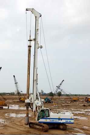 SR-30 Hydraulic Rotary Rig Soilmec S p A [Ground Construction