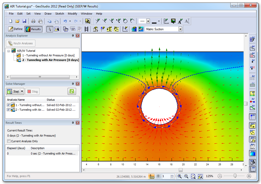 AIR/W [Numerical Analysis Software - Geotechnical Finite Element