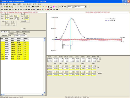 CAPWAP [Geotechnical Design Software - Deep Foundation] - Geotechpedia