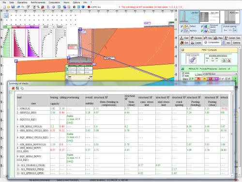 Geo Wall Software Geotechnical Design Software Earth Retaining Structures Geotechpedia