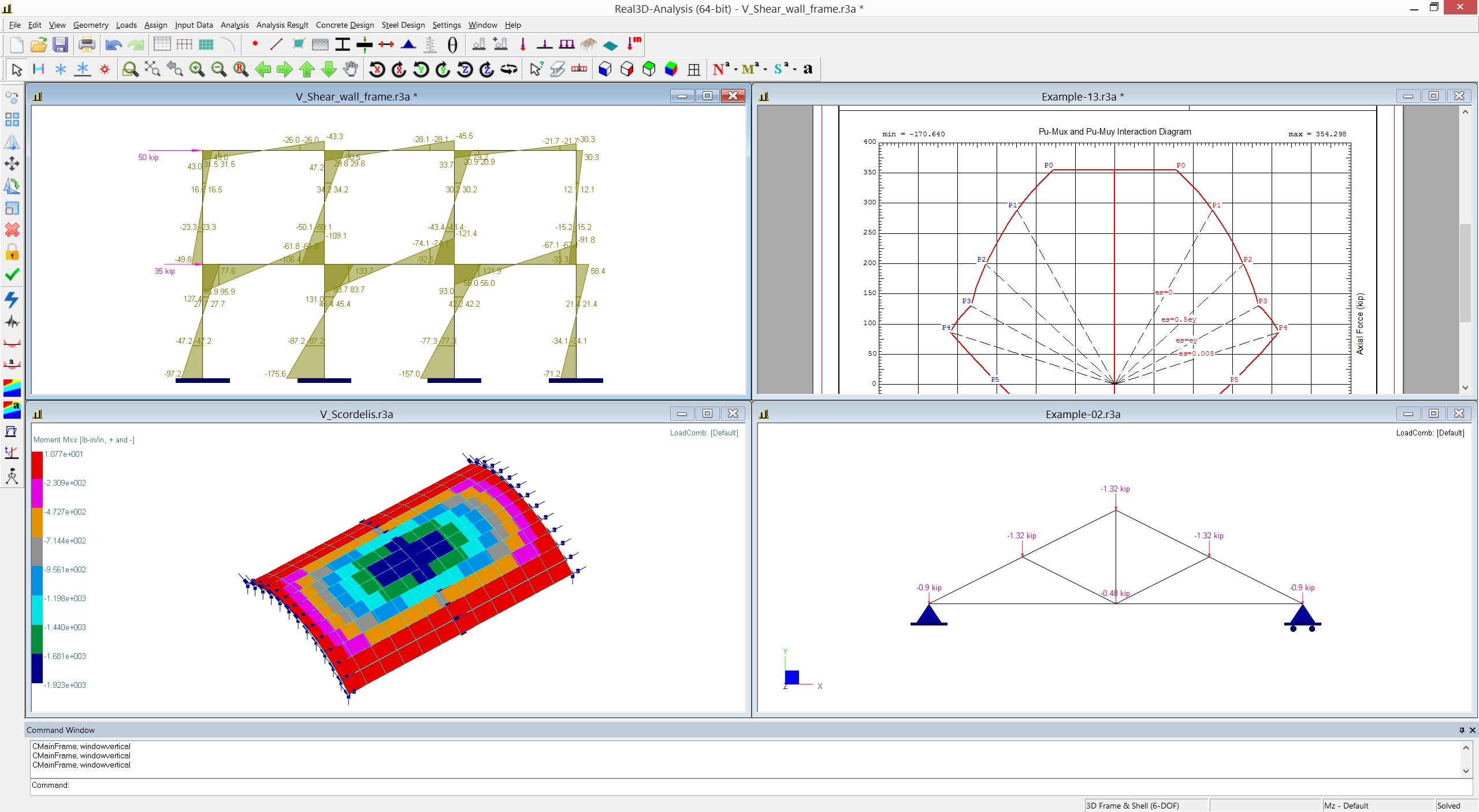 Real3D [Structural Software - Structural Finite Element